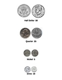 Coin Picture and Value Reference Chart