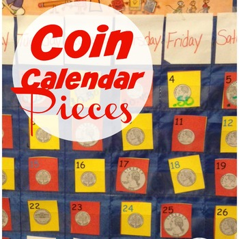 Coin Pocket Calendar Pieces