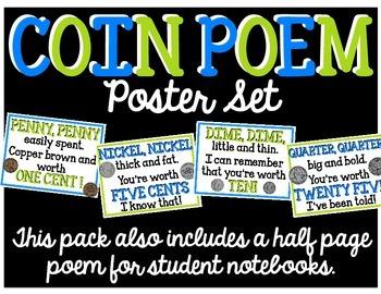 Coin Poem Poster Set