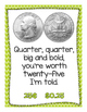 Coin Poem Poster {freebie}