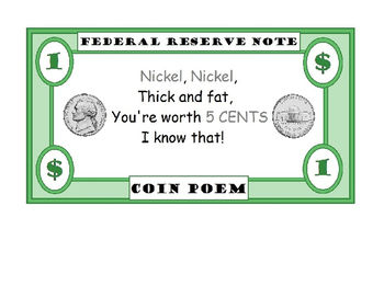 Coin Poem/Posters