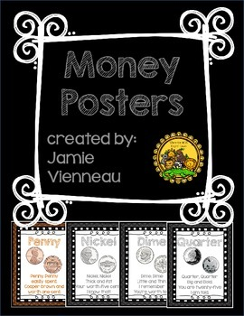 US Coin Poster for Classroom Display