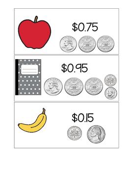 Coin Price Set Sample