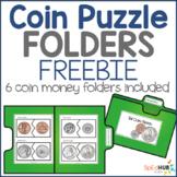 Coin Puzzle File Folders - FREEBIE