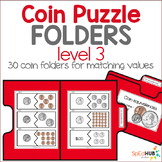 Coin Puzzle File Folders - Level 3