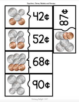 Coin Puzzles (Money to $1.00)