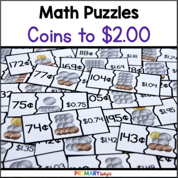 Coin Puzzles to $2.00 (Money Puzzles)