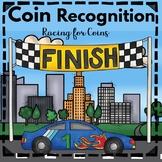 Kindergarten - Special Education -Coin Recognition Game Skeletons