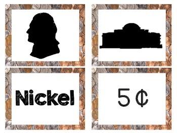 Coin Sense [Penny, Nickel, Dime & Quarter Picture Sort]