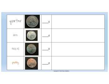 Coin Sort Activity