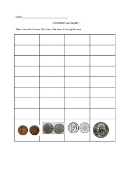 Coin Sort and Graph