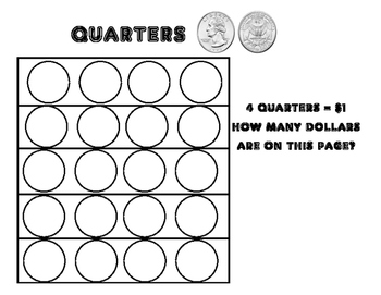 Coin Sorting & Counting (Pennies, Nickels, Dimes, Quarters)