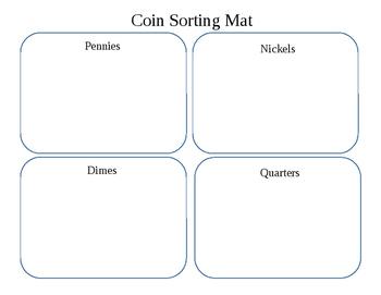 Coin Sorting Mat