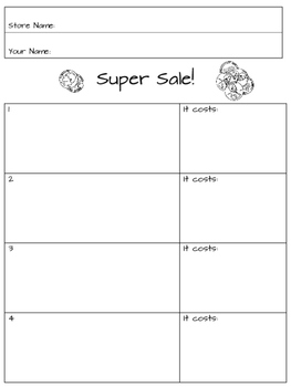 Coin Sorting and Counting Activity and Worksheets