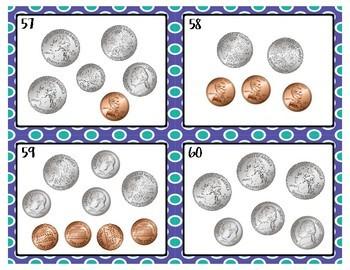 Coin Task Cards