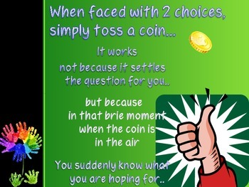 Coin Toss Poster