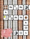Coin Value File Folder Game