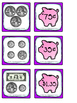 Coin Value Memory -- 2 Sets!