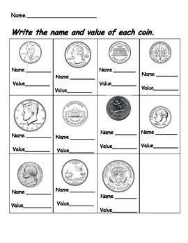 Coin Value Quiz