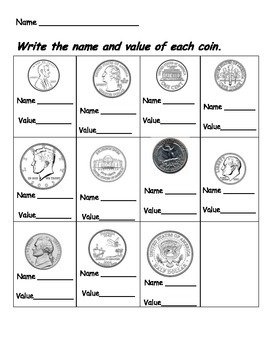Coin Value Quiz