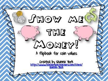 Coin Value Shutterbook Freebie