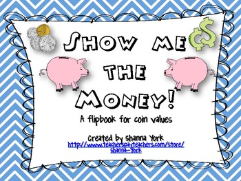 Coin Value Shutterbook Freebie