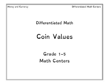 Coin Values Differentated Math