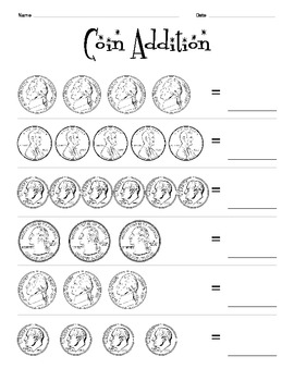 Coin Values Packet