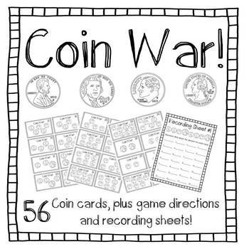Coin War! (black and white)