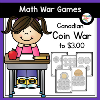 Canadian Coin War to $3 (A Money Game)