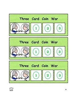 Coin Wars money counting game