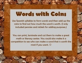 Coin Words - Spanish Syllables (Palabras con monedas)