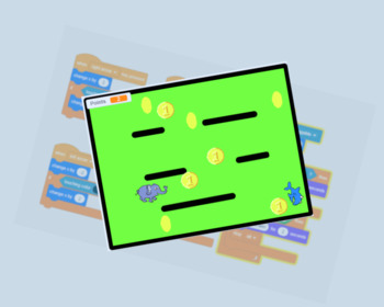 Coin collecting game with Scratch