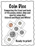Coin dice FREEBIE!