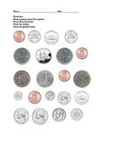 Coin Sort Worksheet