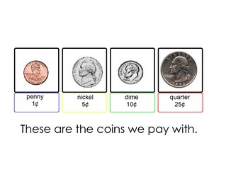 Coin visual