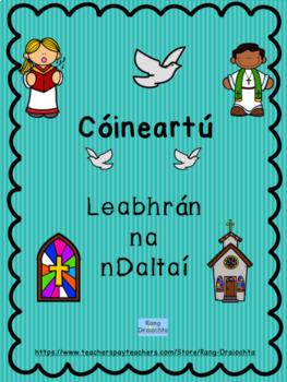 Cóineartú - Leabhrán na nDaltaí (Confirmation Worksheets as Gaeilge)