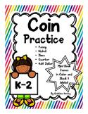 Coins-Math Centers