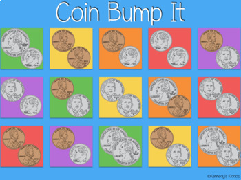 Coins - Bump It (Great for Google Classroom!)