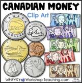 Coins Canadian Money Clip Art