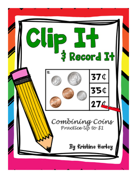 Coins - Coin Clip It Cards