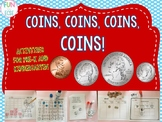 Coins, Coins, Coins! Activities for Pre-K and Kindergarten