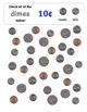 Find the Coins! (Coin Identification Activity & Clipart)