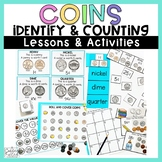 Counting Coins Identifying Coins Money Worksheets and Activities