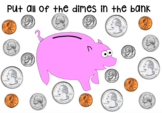 Coin Identification (Interactive Smartboard Activity)