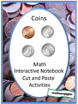 Coin Counting, Money Skills for Special Education, Interactive Notebook