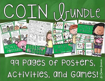 Coins Money Activities Games Posters Ultimate Bundle