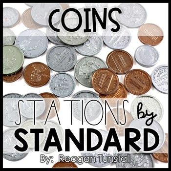Coins/Money Math Stations Kindergarten