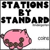 Coins/Money Math Stations Kindergarten