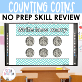 Coins | Penny, Nickel, Dime, Quarter Counting - Math Power